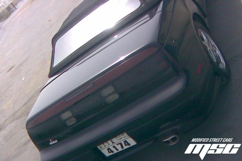 Nissan 300ZX Fairlady Convertible Rear